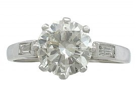 antique diamond solitaire rings