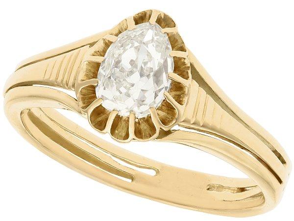19th Century Engagement Rings