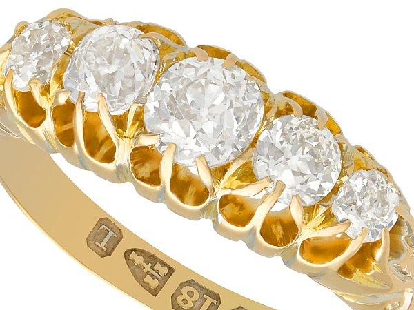 Victorian engagement jewellery