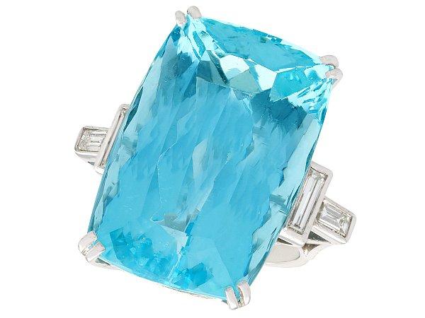 Aquamarine and Diamond Jewellery