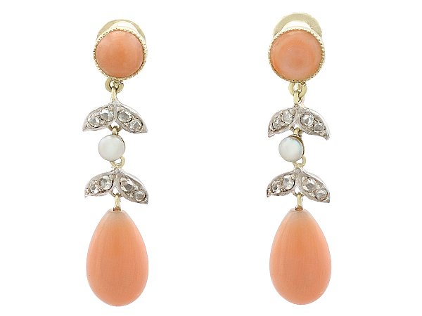Earrings to Match a Rose Gold Dress