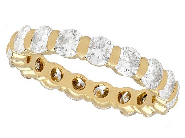 Eternity Rings or Wedding Rings