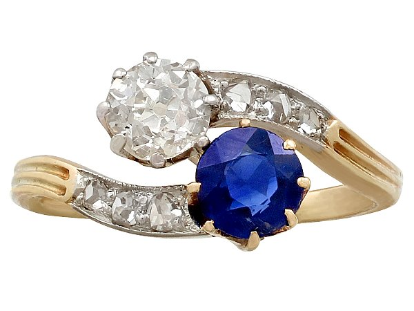 Sapphire Anniversary Rings for Her