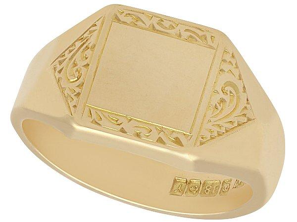 Signet Ring Style Guide for Men