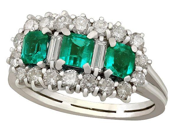 Unique Emerald Engagement Rings