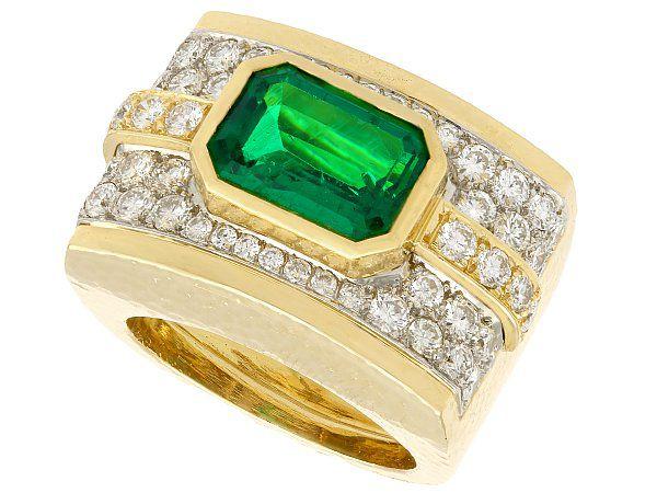 Gents Emerald Jewellery