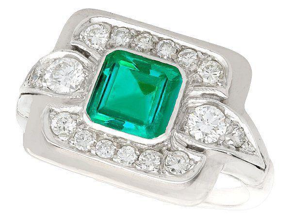 Emerald jewellery for men