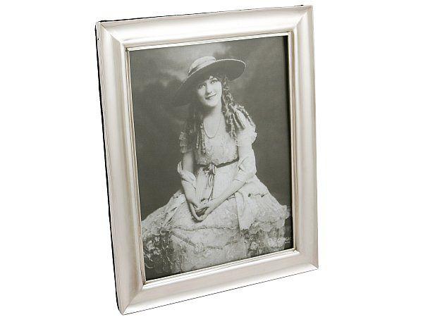 Antique Silver Photo Frame