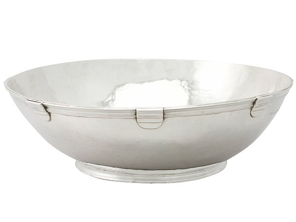 How to Decorate with Silver Bowls
