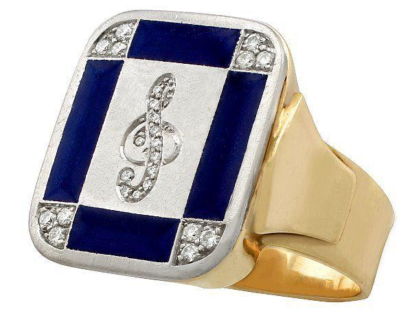 Gemstone Signet Rings