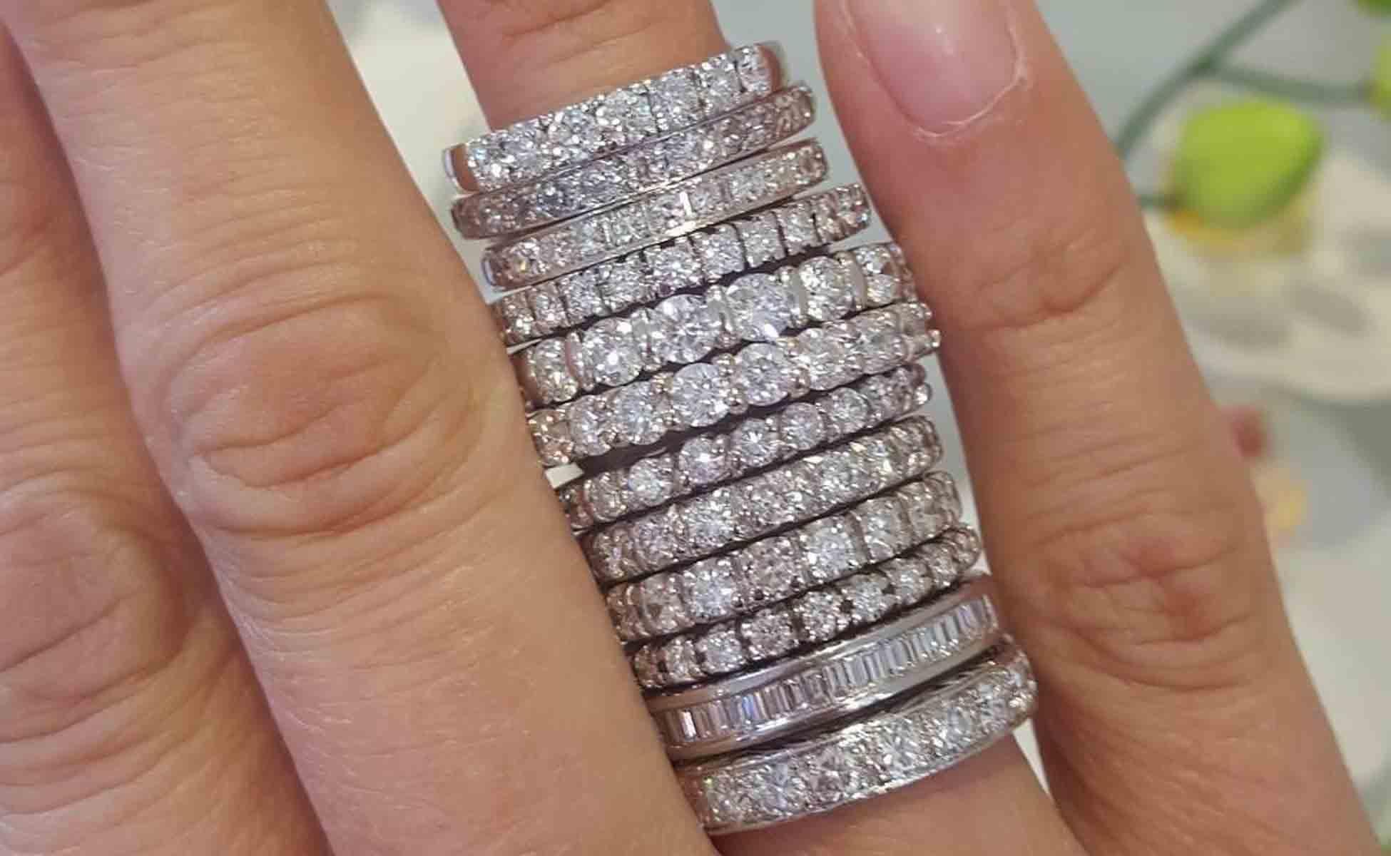 How to Wear Eternity Rings