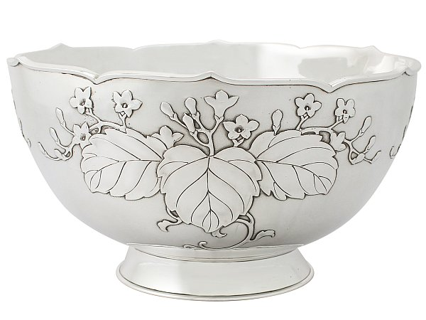 How to Decorate with a Silver Bowl