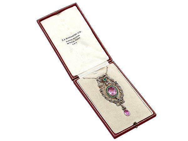 Suffragette Pendant