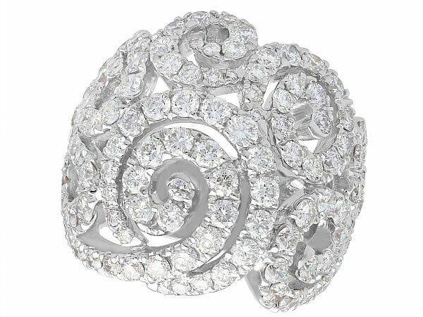Unusual Diamond Dress Rings
