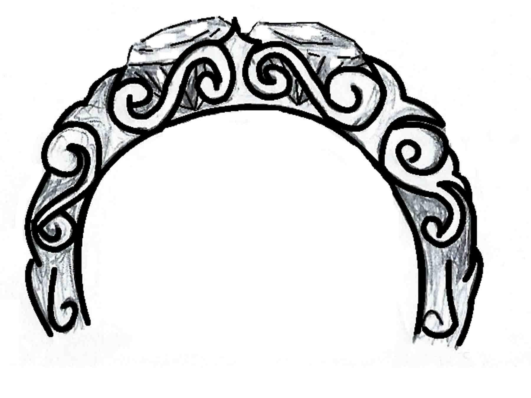 filigree ring decoration