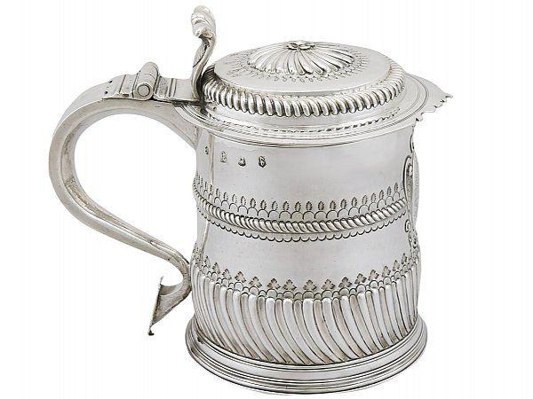 Silver Quart Tankard