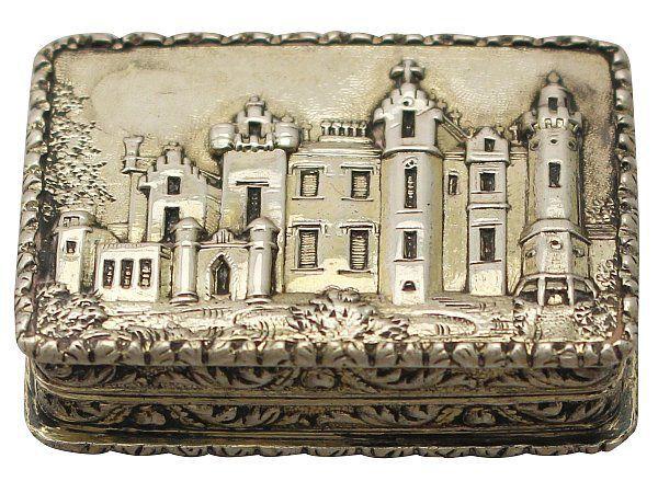 antique Victorian vinaigrette