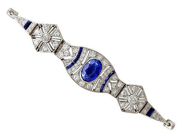 antique sapphire bracelet