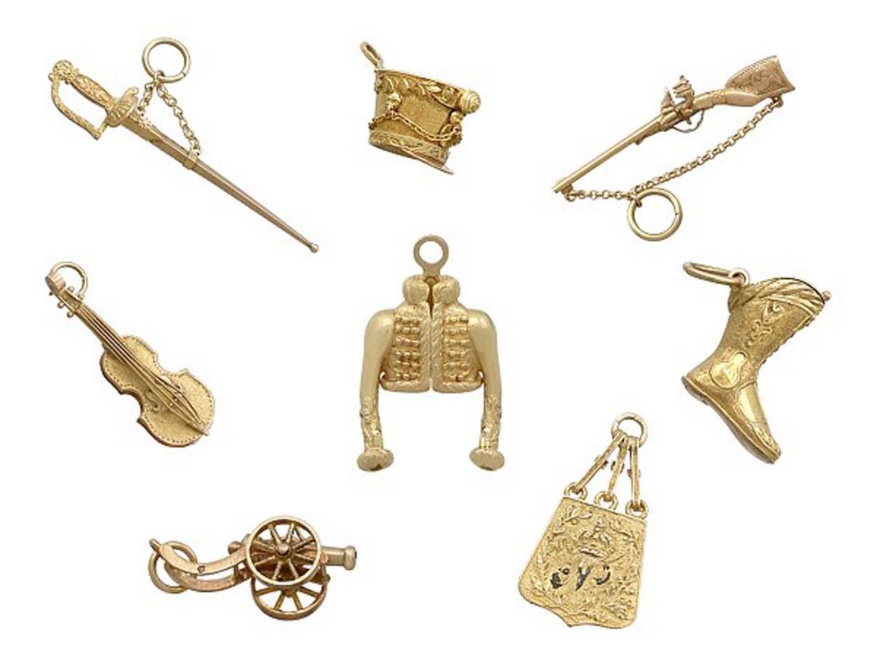 Antique Napoleonic Charms