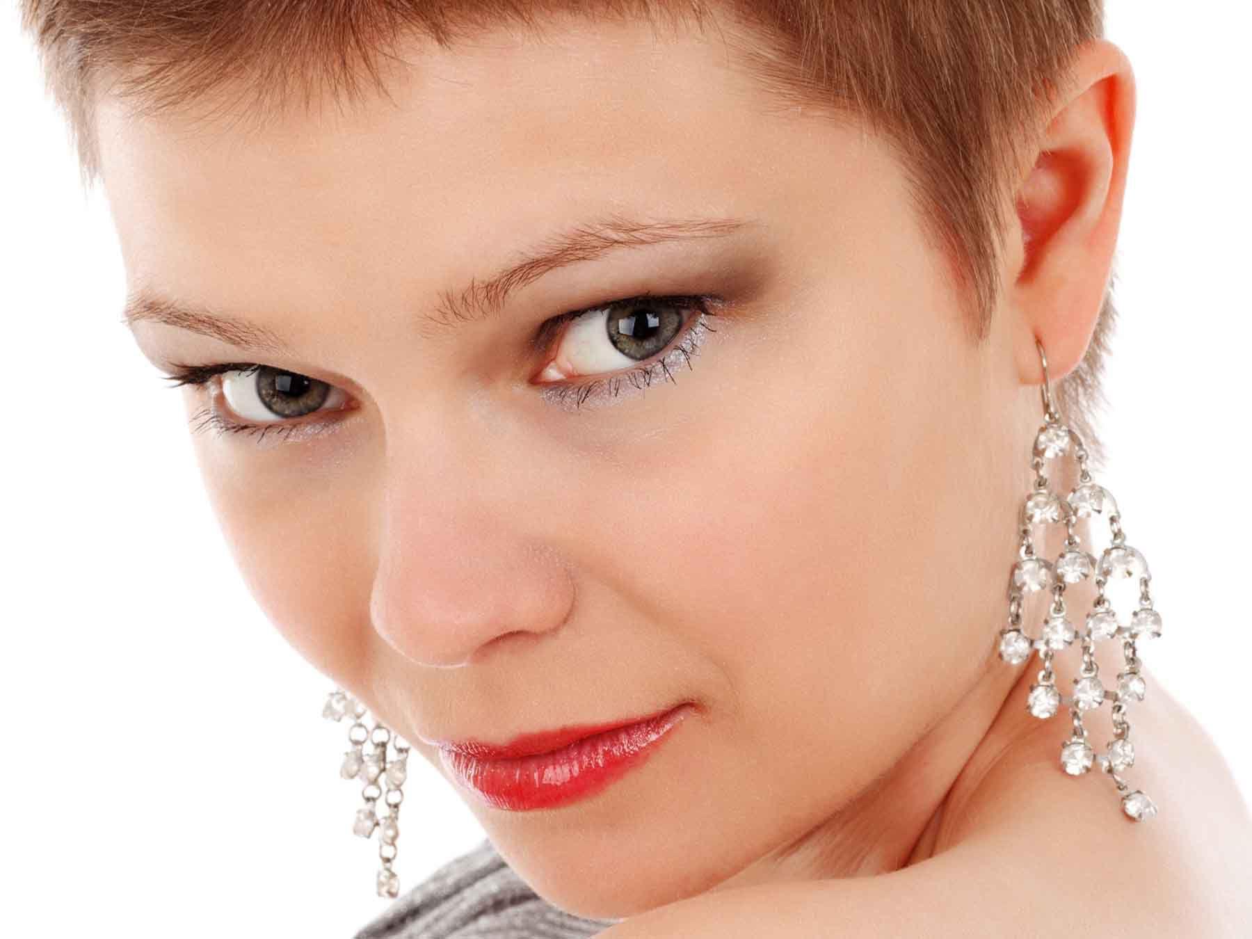 earrings for pixie cut