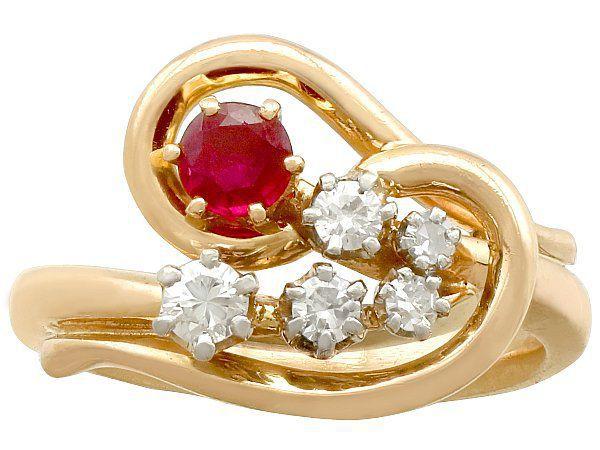 Vintage Ruby Rings