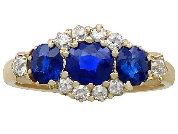 Gemstone Engagment Ring