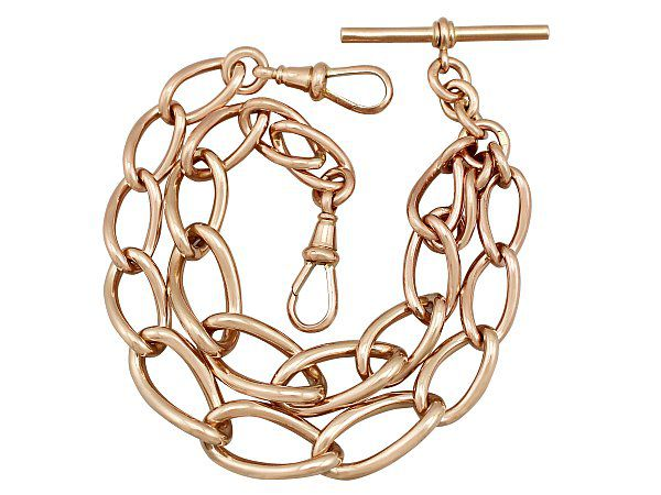 Rose Gold Watch Chain