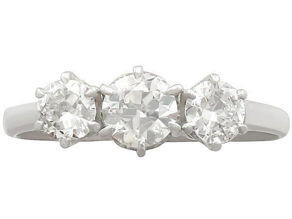 diamond trilogy ring