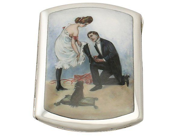 erotic silver case