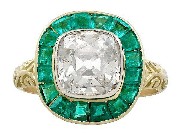 antique emerald ring
