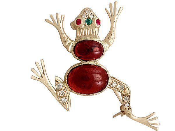 History of Frog Jewellery