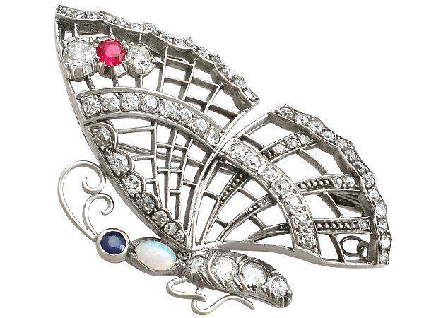 History of Butterfly Jewellery