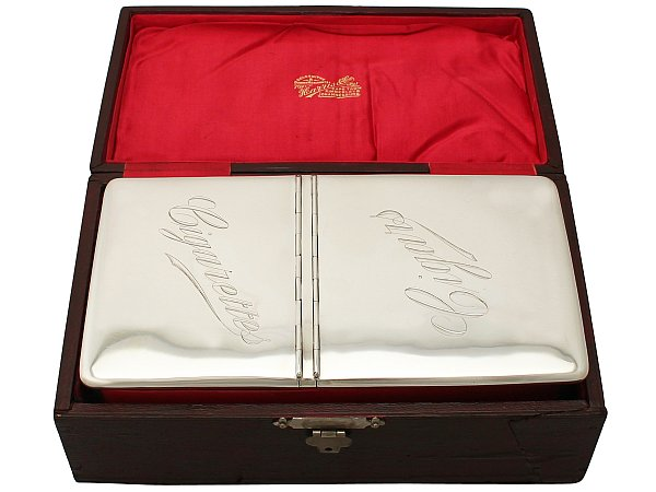 History of cigar boxes