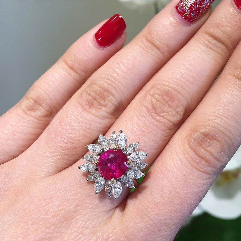 History of Cocktail Rings