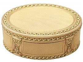 History of snuff boxes
