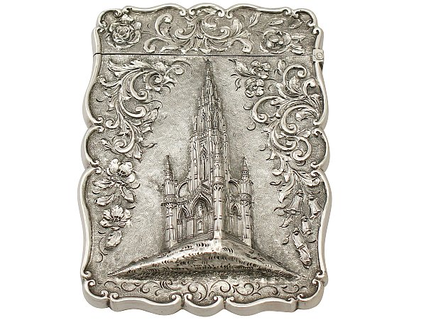 History of Visiting Card Case