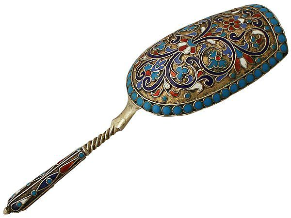 antique Russian spoon
