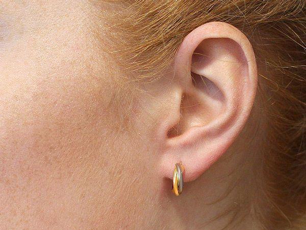 Cartier Hoop Earrings