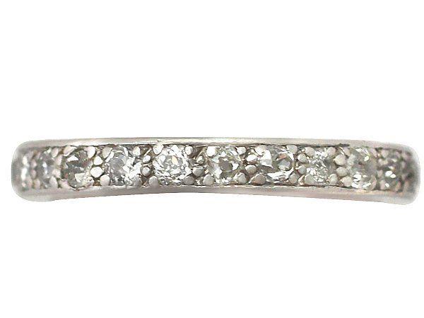 Seven Stone Old Mine Cut Diamond Ring