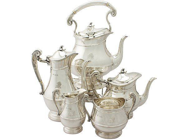 Five Piece Tea Set
