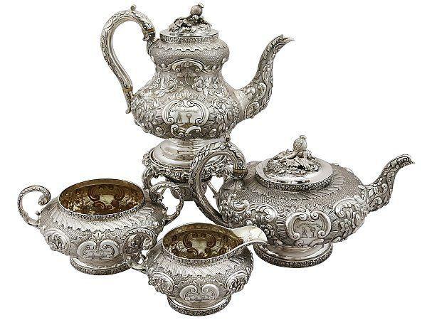 Four Piece Tea Set