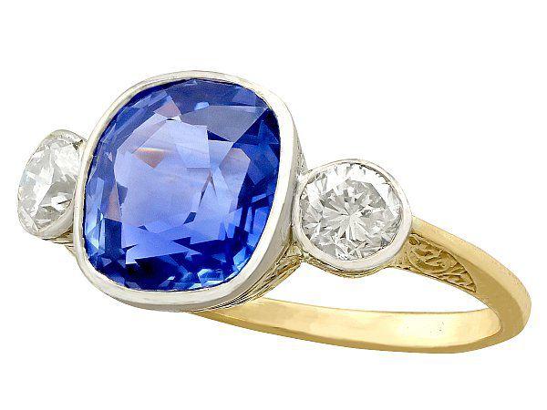 Anniversary Sapphire Ring