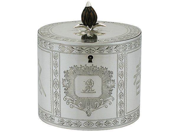 Georgian Tea Caddy