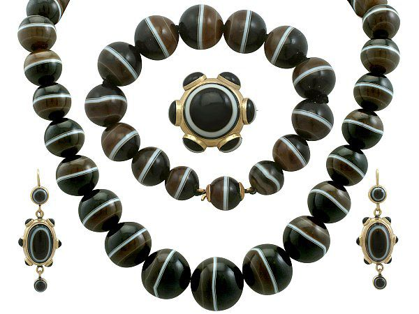 Banded Agate Jewellery
