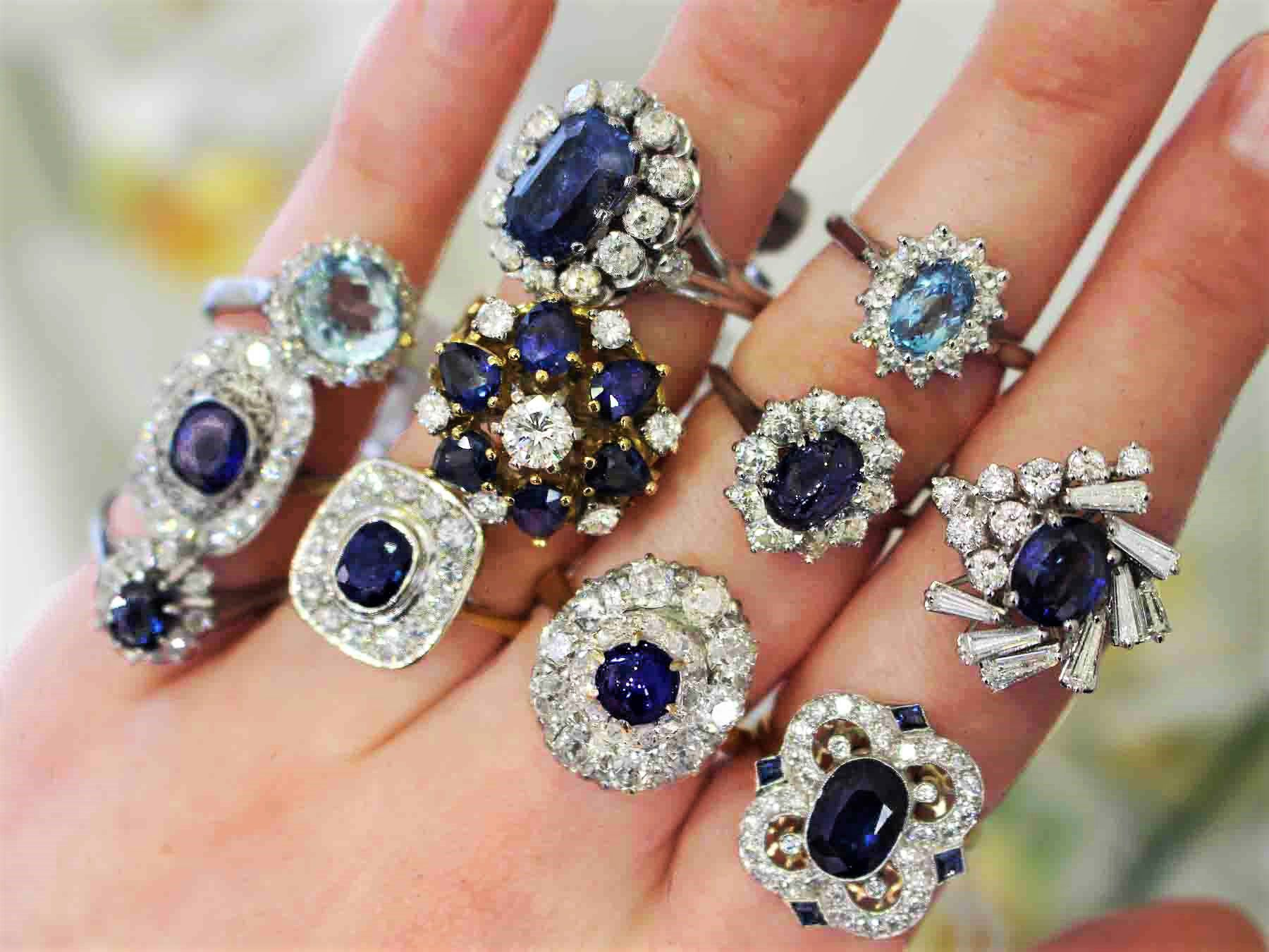 Antique Sapphire Rings