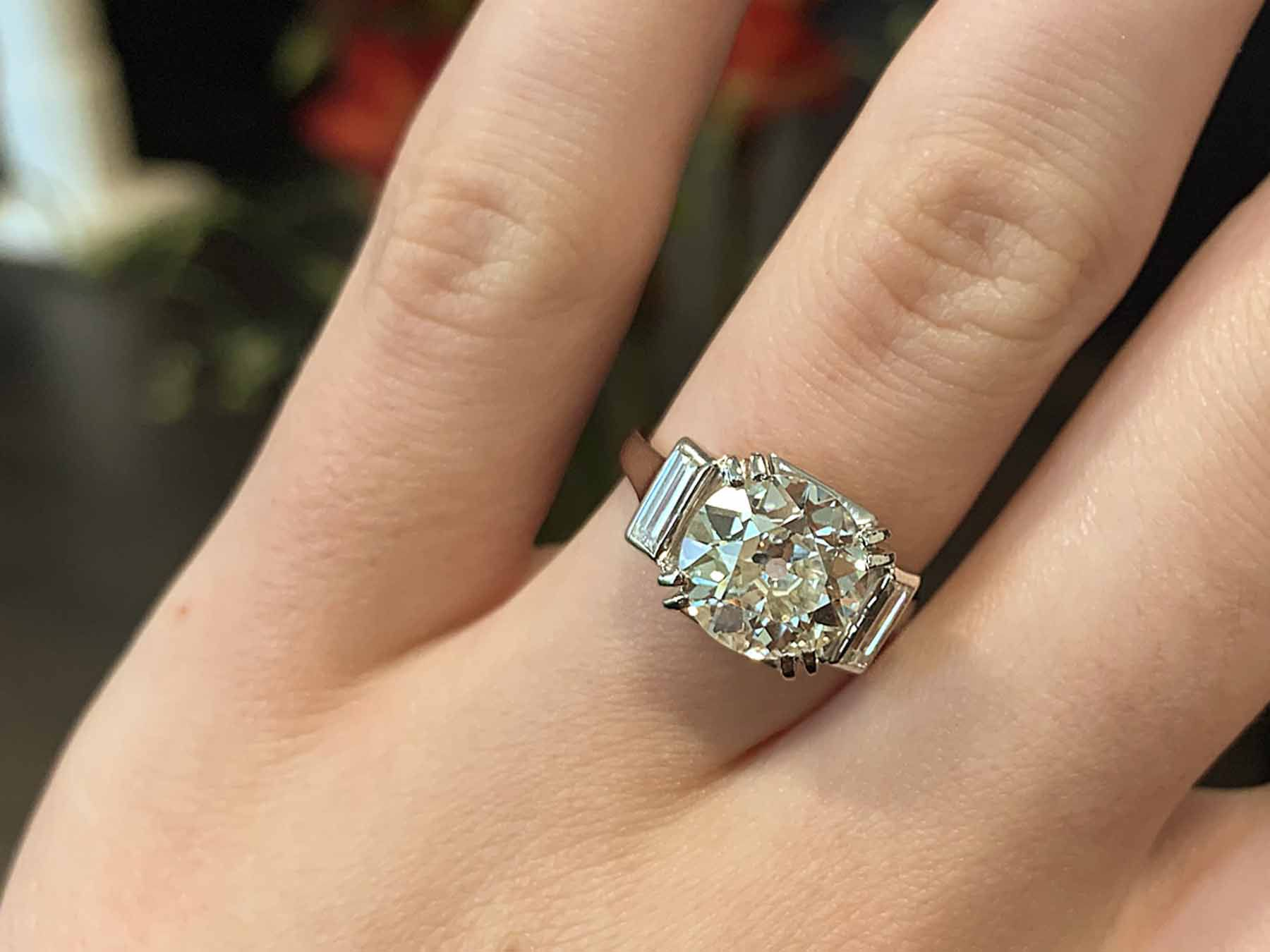 When you should take off your engagement ring