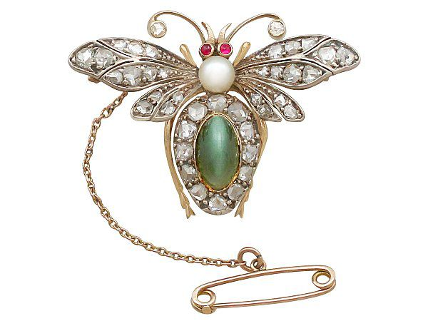 antique Victorian brooch