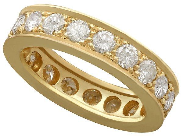vintage antique eternity rings