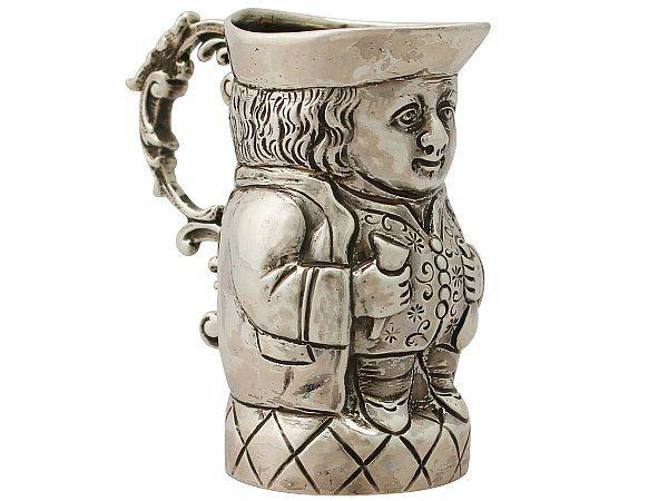 silver toby jug