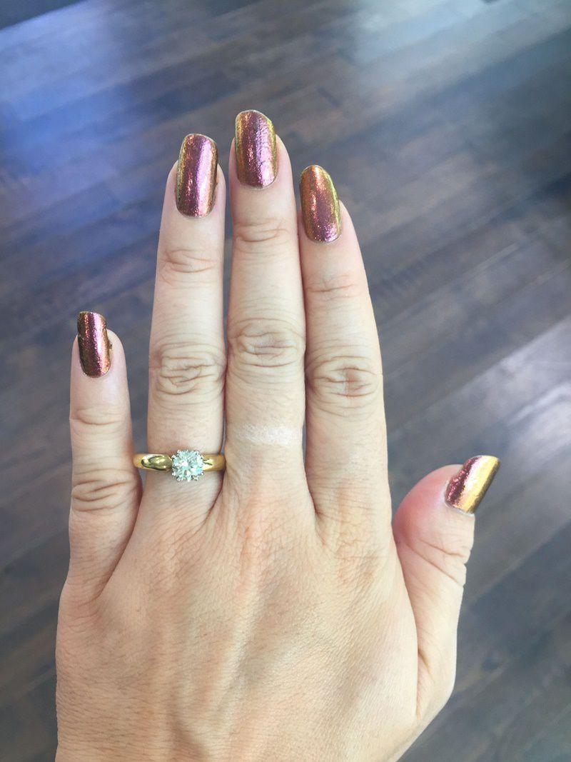 1 carat brilliant round cut ring